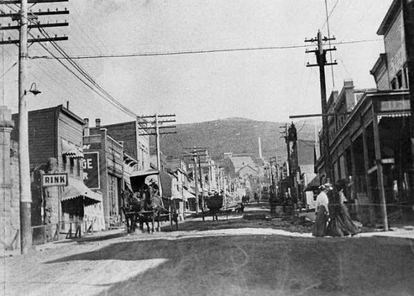 Main Street, ca.1900, Kendall Webb Collection