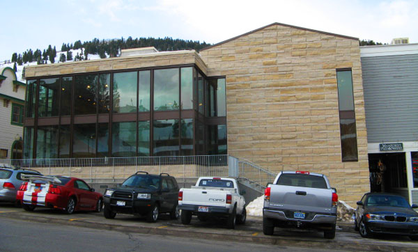 Rear view of the Park City Museum